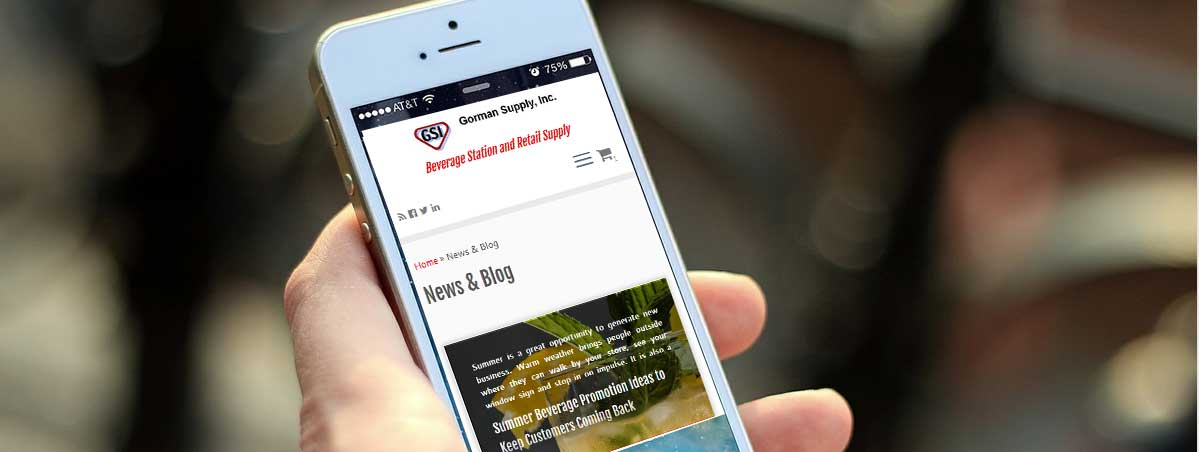 newsletter for beverage businesses