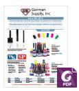Signage Pen & Ink Flyer