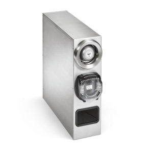Stainless steel lid saver 2 cabinet