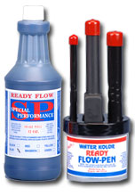 ready flow ink blue pen set