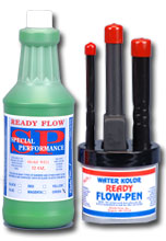 ready flow ink green pen set