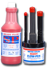 ready flow ink red pen set