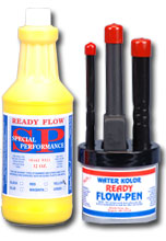 ready flow ink yellow pen set